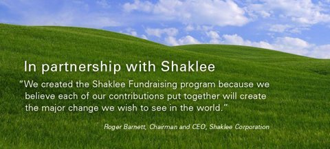 Shaklee Partnership